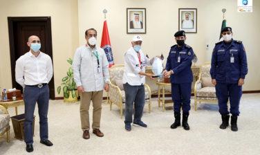 Dasman Diabetes Institute Honors the Kuwait Fire Service Directorate