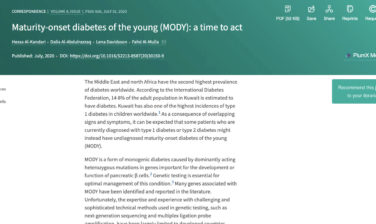 Maturity-onset diabetes of the young (MODY): a time to act